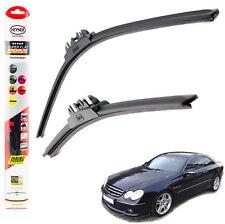 "Mercedes CLK 2003-2009 HEYNER SUPER FLAT PREMIUM wiper blades 22""22"" FRONT"
