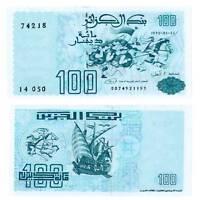 Pick 137 Algerien / Algeria 100 Dinars 1992  Unc. / 6132582vvv.