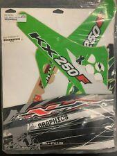 N-Style Shroud Graphics Kit 2009-2010 Kawasaki KX250F Decals Stickers Paint