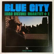 Isao Suzuki Quartet + 1 Blue City Three Blind Mice TBM-2524 JAPAN VINYL LP JAZZ