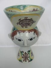 RARE PRETTY BJORN WIINBLAD LADY WITH POT ON THE HEAD V24 1968