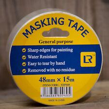 60 Rolls  Masking Tape 48 mm x 15 Meter -White Colour