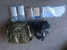 More details for british army gsr respirator, sas, para, army, cbrn, gas mask