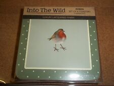 Intro The Wild Robin set 6 Coasters Creative Tops