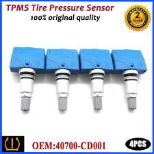 4PCS 40700-CD001 TPMS Tire Pressure Sensor FOR NISSAN 350Z INFINITI FX35 FX45