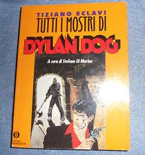 Oscar Mondadori Tutti I Mostri Di DYLAN DOG Bonelli Volume 500 Pagine