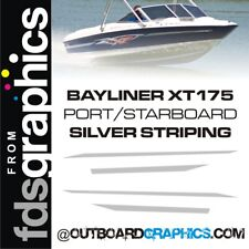 Bayliner XT175 SILVER striping kit- custom colours available