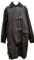 RALPH LAUREN POLO MEN'S BLACK LONG COTTON JACKET, XL, $1100