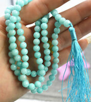 Jewelry 6mm stone Buddhist Amazon 108 Prayer Beads Mala Bracelet Necklace