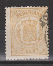 NVPH Netherlands Nederland 17 used Wapenzegel Pays Bas 1869