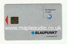 Blaupunkt Casablanca RCM85 7 645 733 010 Keycard - Brand New Genuine Part