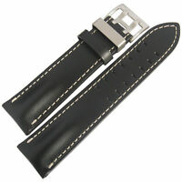 DI MODELL OFFROAD MENS LEATHER PILOT GERMAN Made Watch STRAP BAND 20 22 24MM