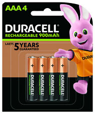 82211925 Duracell AAA 4pk rechargeable