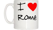 I Love Cuore Tazza Roma