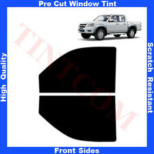 Pre Cut Window Tint Mazda BT-50 4 Doors 2007- 2012 Front Sides Any Shade