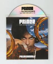 PRINCE FT ZOOEY DESCHANEL 'FALL IN LOVE TONIGHT' CD PROMO + STICKER