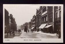 Lancs WARRINGTON Bridge St Tram 1918 RP PPC