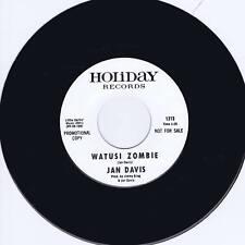 Jan Davis-Watusi Zombie - (Hot Club de surf-Rockabilly Guitar Garage Poussette)