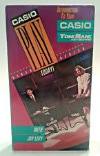 Introduction To Your Casio Tone Bank Keyboard Vhs Video Casio Play Today Series