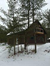 Cabin Cottage 3 Car Garage Bunk House Plans Blueprints