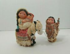 Enesco Friends Of The Feather Chosen People nativity figurines Mary Joseph Jesus