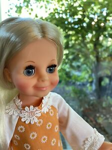Ideal Crissy Family, Velvet Doll In Pristine Handmade Outfit, Beautiful, Clean!