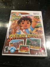 Go Diego Go! Safari Rescue (Nintendo Wii) Brand New Factory Sealed rip on top