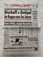 CORRIERE DELLO SPORT 21 SETTEMBRE 1998 BASKET FORTITUDO BOLOGNA VINCE SUPERCOPPA