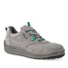 JALLATTE JALCRICKET J0247 SIZE 9 SUEDE LEATHER SAFETY TOE WORK BOOTS TRAINERS