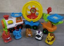 VTech - Tut Tut Animo - Super Train fantastico-Rigolo + 5 animaux