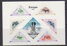 Europa Cept 1961 Lundy m/s ** mnh(A874) British Locals