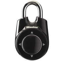 Master Lock Directional Movement Combination Padlock  Locker Safe keyless key