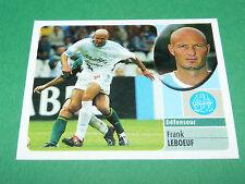 FRANK LEBOEUF OLYMPIQUE MARSEILLE OM PANINI FOOT 2003 FOOTBALL 2002-2003