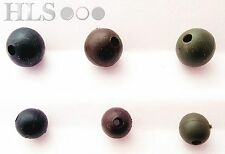 Rubber shock impact rig beads 6mm 8mm - Chod Hair rig  Carp HLS fishing tackle