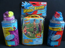 NEW KAOS Water Balloons + Bomb Launcher Catapult 1030 Pcs + 4 Faucet Fillers NIP