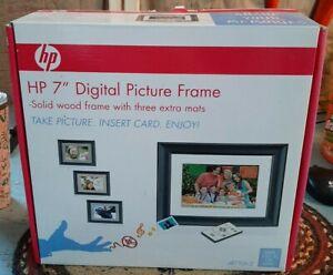 "New HP Hewlett Packard DF710C2 7"" Digital Picture Frame"