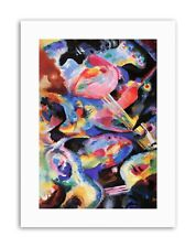 Wassily Kandinsky russe Abstract Poster Peinture Vieux maître Toile Art Prints
