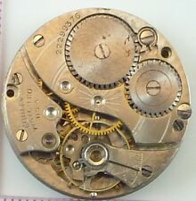 Vintage Equity Watch Co Pocket Watch Movement - Parts / Repair