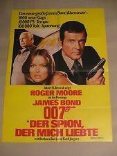 JAMES BOND 007 - DER SPION DER MICH LIEBTE - Poster Plakat - Roger Moore