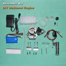 DIY Assembly Mini Methanol Engine Motor w/ Clutch Mini Boat Car Aircraft Motor