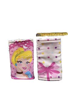 Suck Pads /Strap Savers Fit Tula / Lillababy Hand Made Pink Cinderella Disney