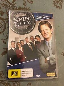 Spin City : Season 1 (DVD, 2014, 4-Disc Set)