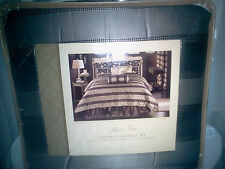 Rose Tree 4 piece Queen Comforter Set~Tree Plaza Collection~Retail $460~New