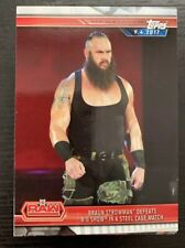 2019 Topps WWE Road To Wrestlemania Base Card Set Complete #1-100