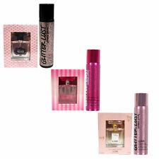 Victoria's Secret Gift Set 1 Oz Perfume Glitter Lust Shimmer Spray New Nwt Vs