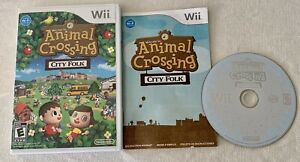 ANIMAL CROSSING CITY FOLK NINTENDO WII GAME WITH CASE AND BOOKLET