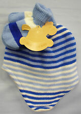 Unbranded Girls' Striped Baby Caps & Hats