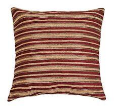 Chenille Striped Decorative Cushions