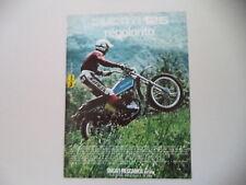 advertising Pubblicità 1975 MOTO DUCATI 125 REGOLARITA