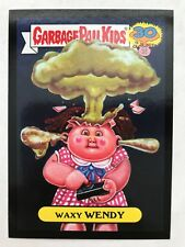 Garbage Pail Kids 2015 Series 2 30th #4b WAXY WENDY Don't Push My Button BLACK